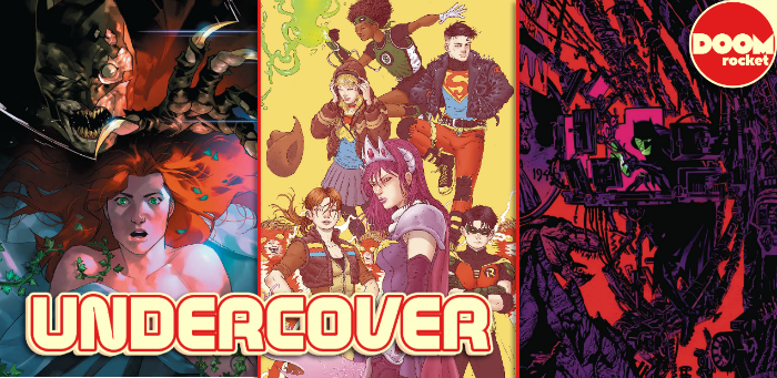 Undercover: Ramon Villalobos brings qualified cool to this week's 'Young Justice' variant