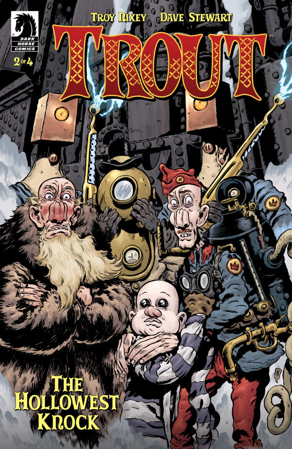 EXCLUSIVE: Lovecraft meets Collodi in Nixey's 'Trout: The Hollowest Knock' #2