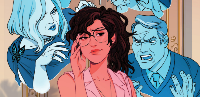 'Ghosted in LA' #1 a fabulous debut about modern life and identity