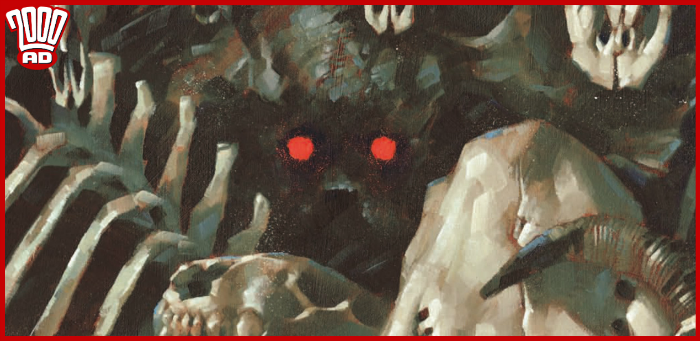Preview: 'Thistlebone' stirs something old and angry in '2000 AD' prog 2140