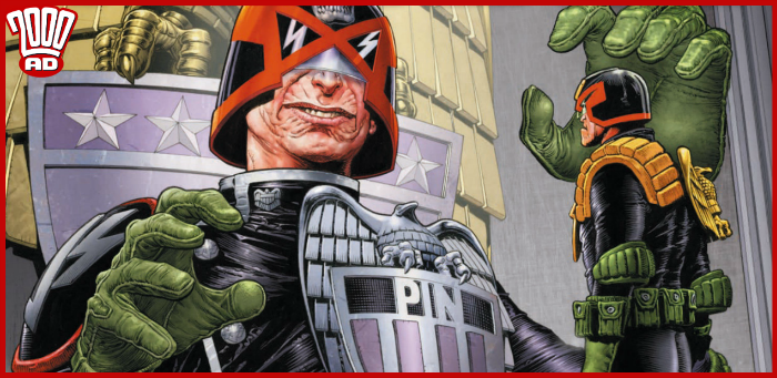 Preview: Precarious peril comes to Dredd courtesy of Pin in '2000 AD' prog 2141