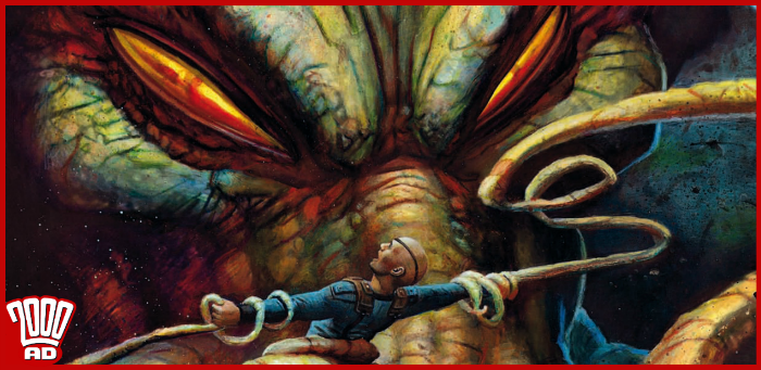 Major Arcana gets up close and personal with The Christhulhu in '2000 AD' prog 2142 [PREVIEW]