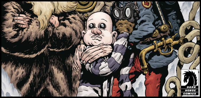 EXCLUSIVE: Collodi collides with Lovecraft in Nixey's 'Trout: The Hollowest Knock' #2