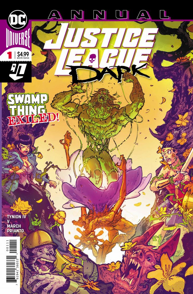 Ram V. on the process behind 'Justice League Dark Annual' #1