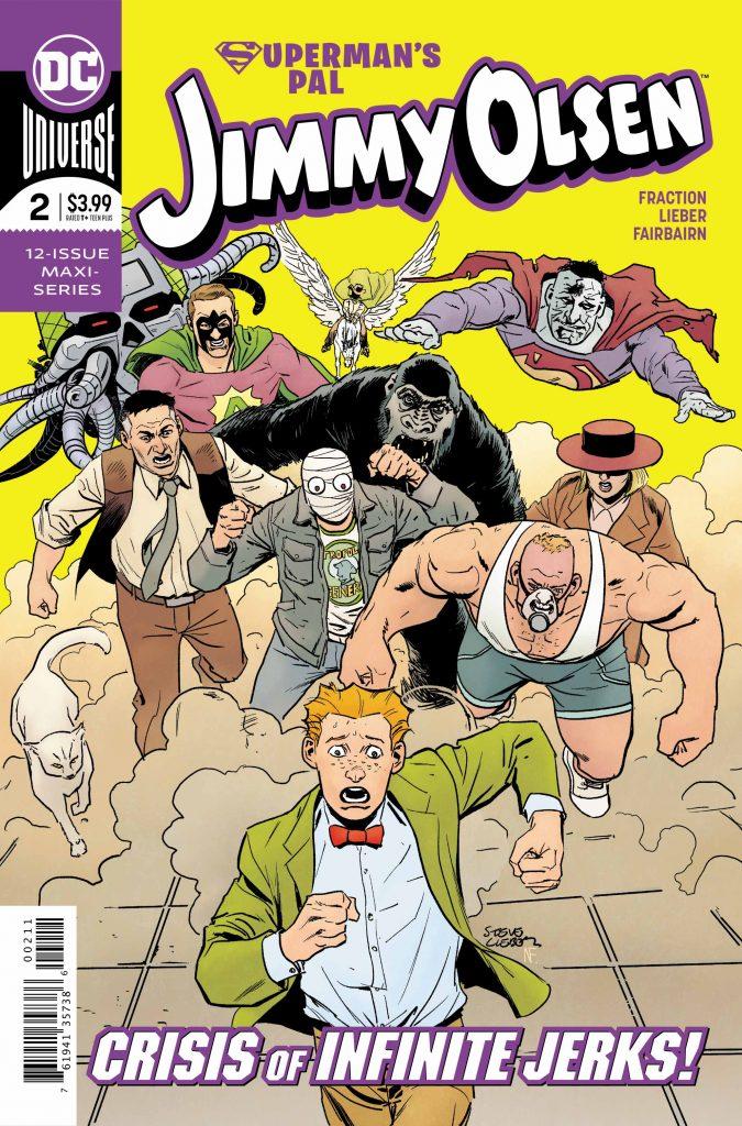 'Superman's Pal, Jimmy Olsen' #2: The DoomRocket Review