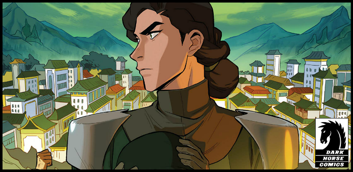EXCLUSIVE: King Wu brings bug spray to a swamp party in 'Korra: Ruins of the Empire, Part Two'