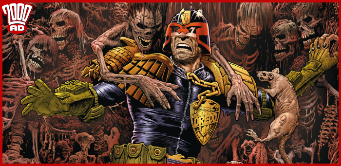 Preview: Dredd succumbs to Pin's morbid monument of madness in '2000 AD' prog 2145