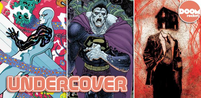 Undercover: Bertram & Stewart team up for a bizarre 'Black Hammer/Justice League' variant