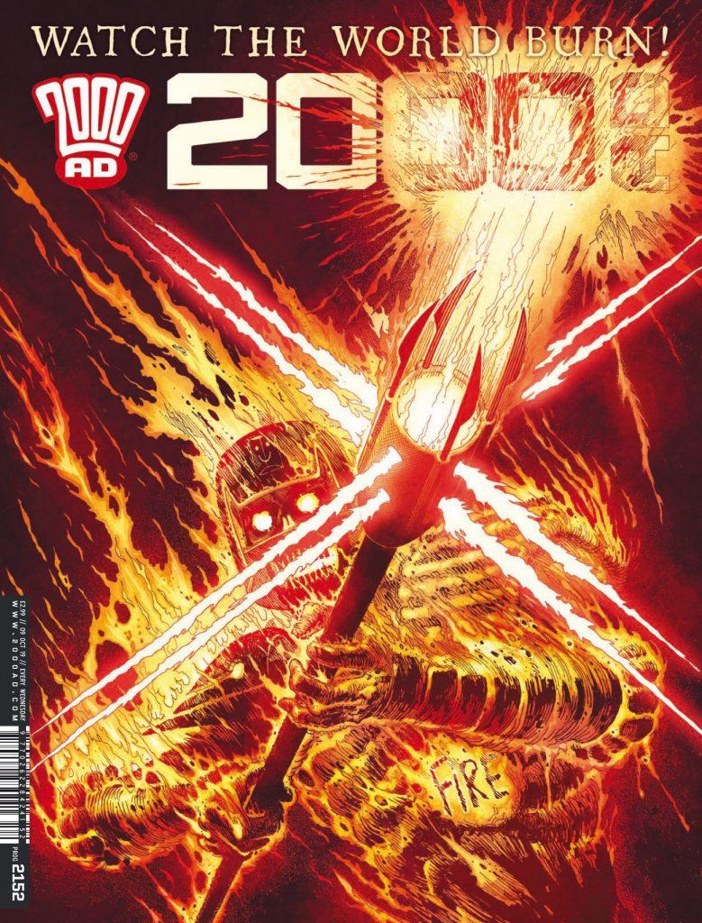 Preview: Deadworld ignites courtesy of Judge Fire's fury in '2000 AD' prog 2152