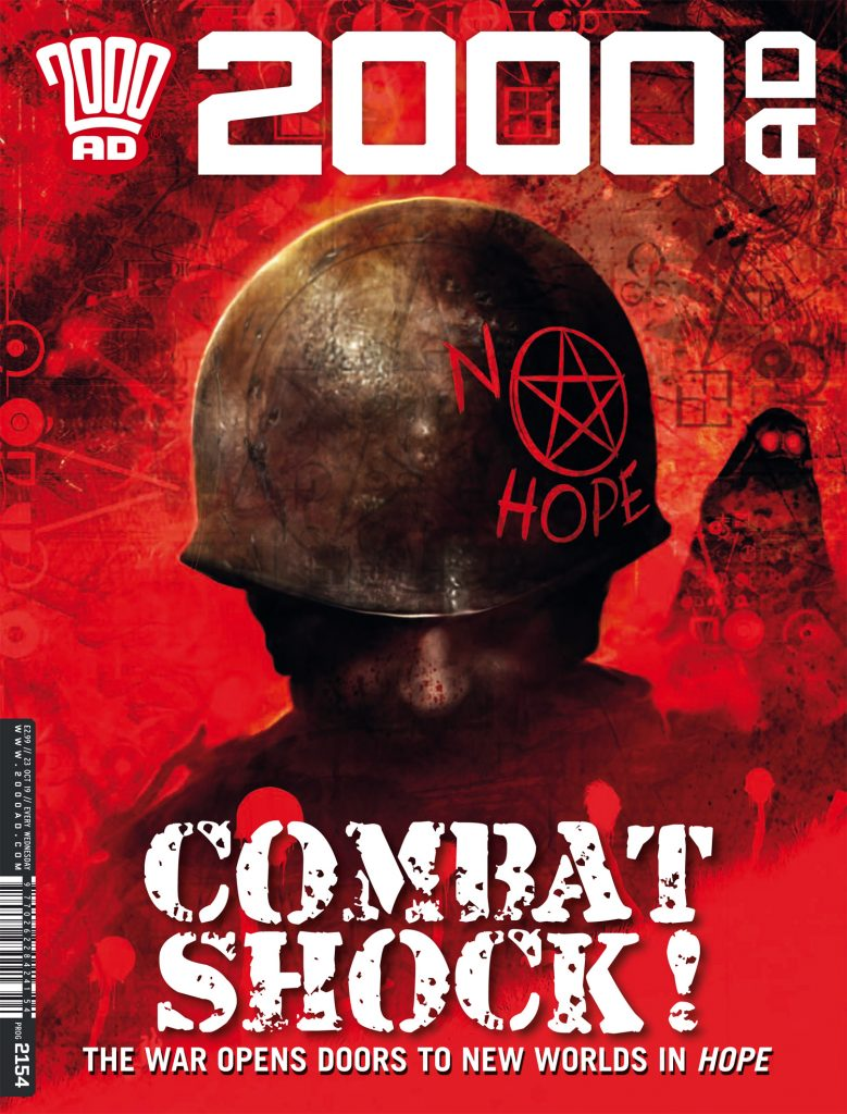 Preview: 'Hope' eats some serious crow in '2000 AD' prog 2154