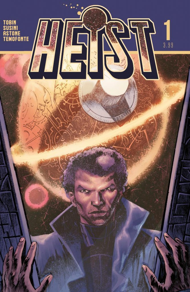 10 things concerning Paul Tobin and 'Heist, or How to Steal a Planet'