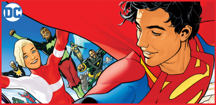 First Look: Bendis & Sook hurtle us towards a brave new future in 'Legion of Super-Heroes' #1