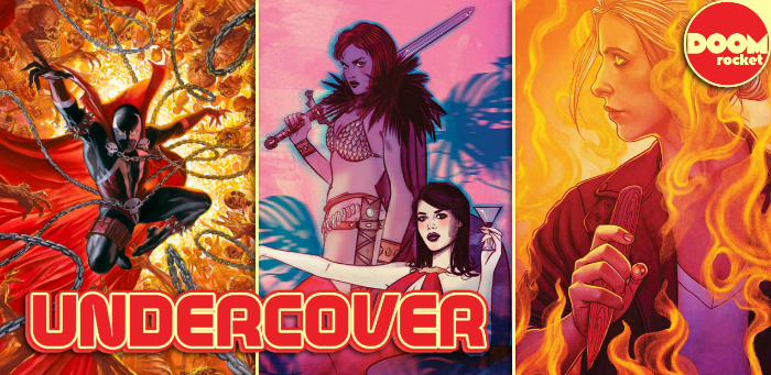 Undercover: Frison's 'Hellmouth' cover strikes fear in wayward vamps everywhere