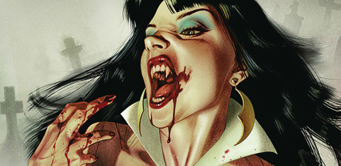 'Vengeance of Vampirella' #1: Full of story, short on bite