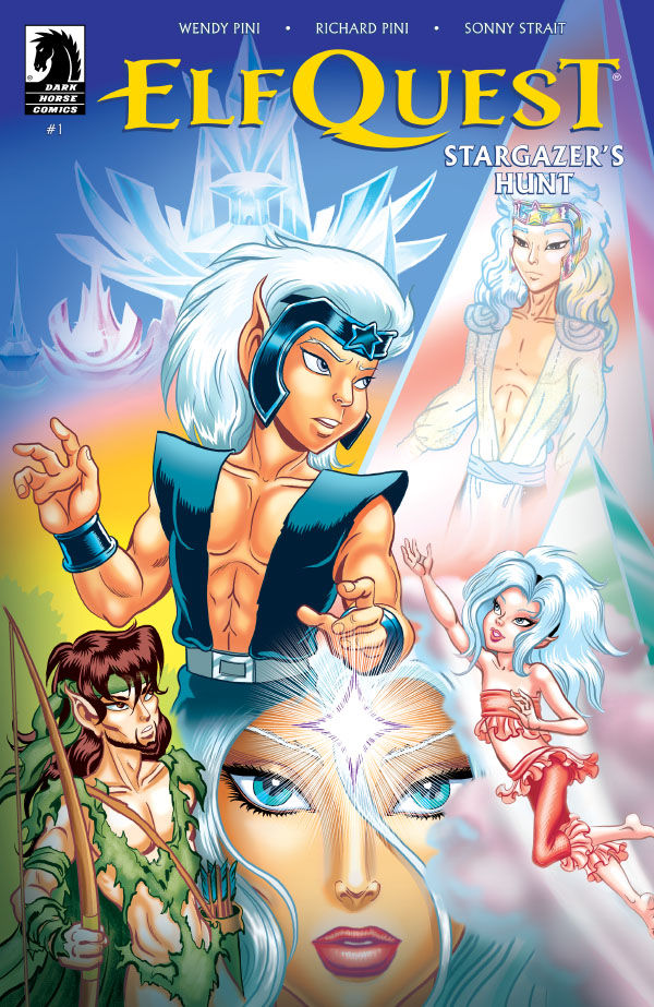 8 things concerning Wendy Pini, Richard Pini and 'ElfQuest: Stargazer's Hunt'