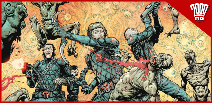 Preview: Novachak doesn't have time for your bourgeois crap in '2000 AD' prog 2157