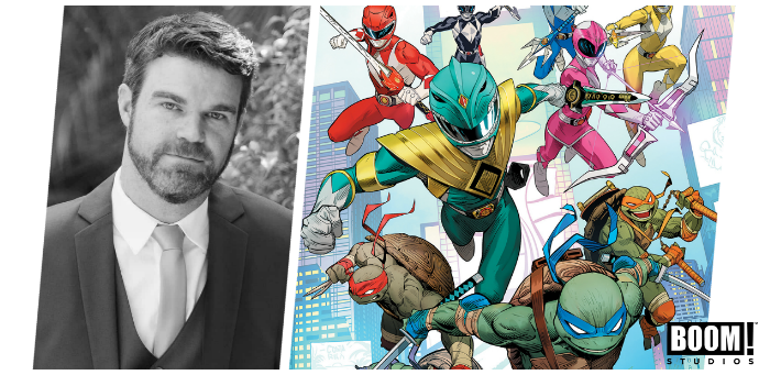 10 things concerning Ryan Parrott and 'Mighty Morphin Power Rangers/Teenage Mutant Ninja Turtles'