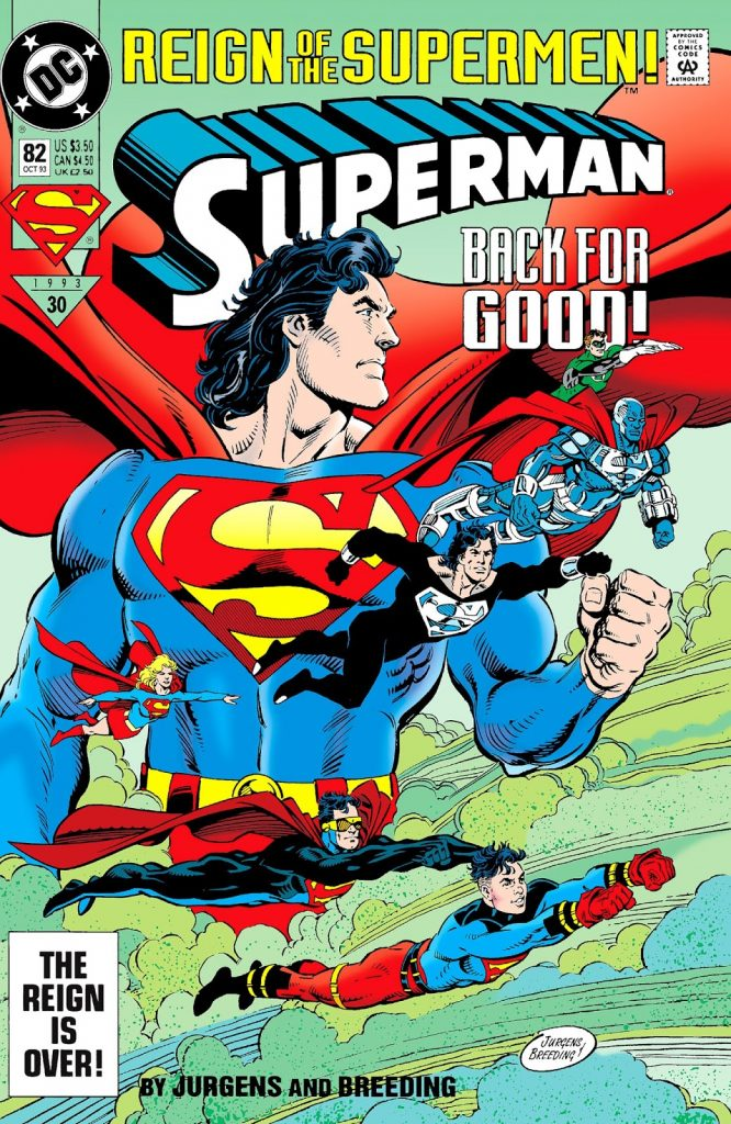 'Superman' #82 remains an iconic grudge match for the ages