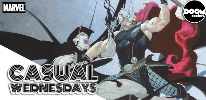 'The God Butcher'/'Godbomb' [The Jason Aaron 'Thor' Run, Part 1] — CASUAL WEDNESDAYS