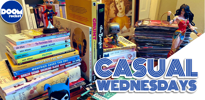 Attack the Reading Stack! — CASUAL WEDNESDAYS