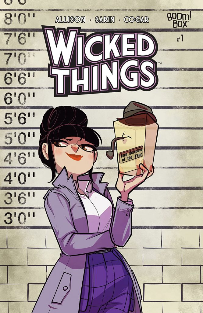 10 things concerning John Allison and 'Wicked Things'