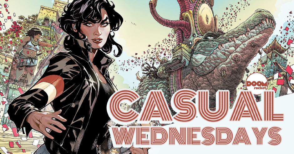 DC News Blitz, Eisner Noms & 'Adventureman' — CASUAL WEDNESDAYS