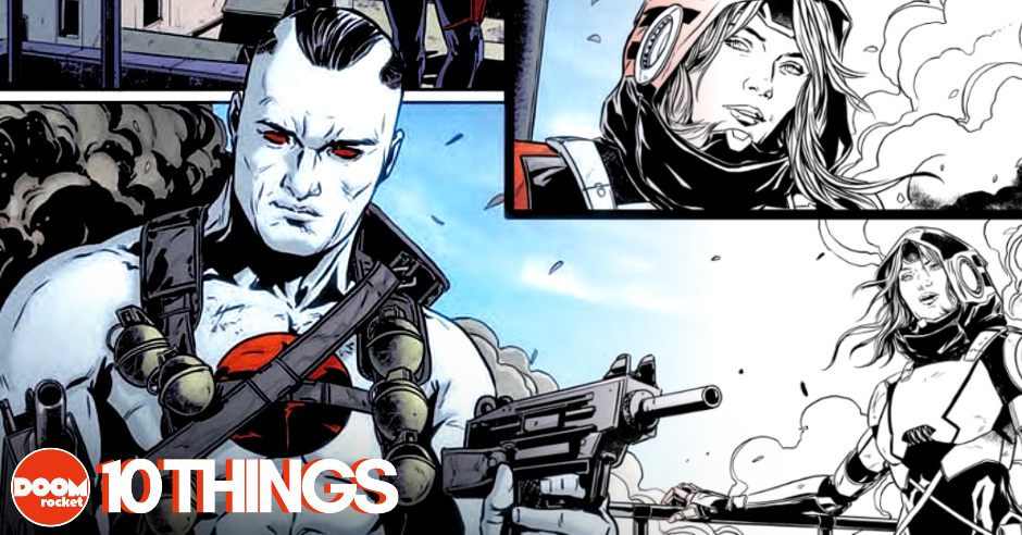 "10 things concerning Marc Laming and the latest high-octane 'Bloodshot' arc, ""Burned"""