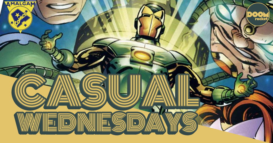 The Amalgam Age of Comics [Part 4] — CASUAL WEDNESDAYS