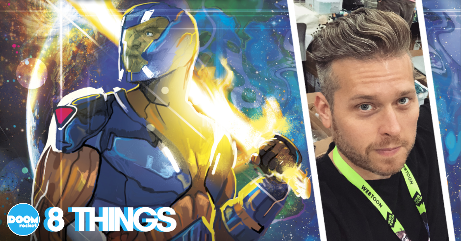 "8 things concerning Dennis ""Hopeless"" Hallum and a brave new era for 'X-O Manowar'"
