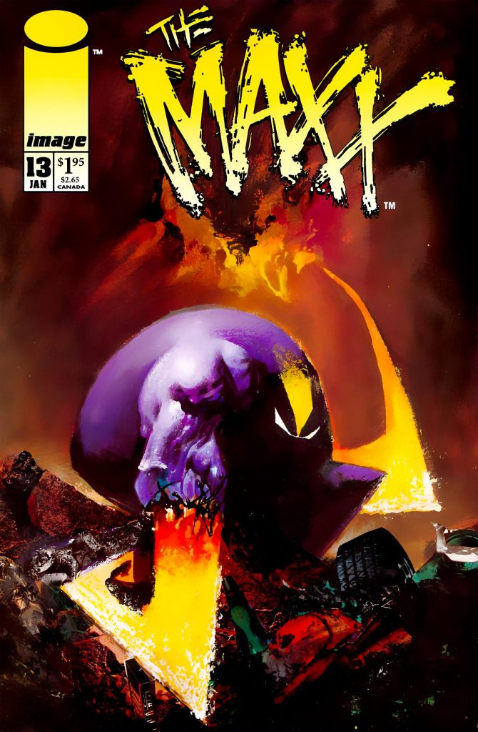 We explore 5 of the best covers from Sam Kieth's 'The Maxx'