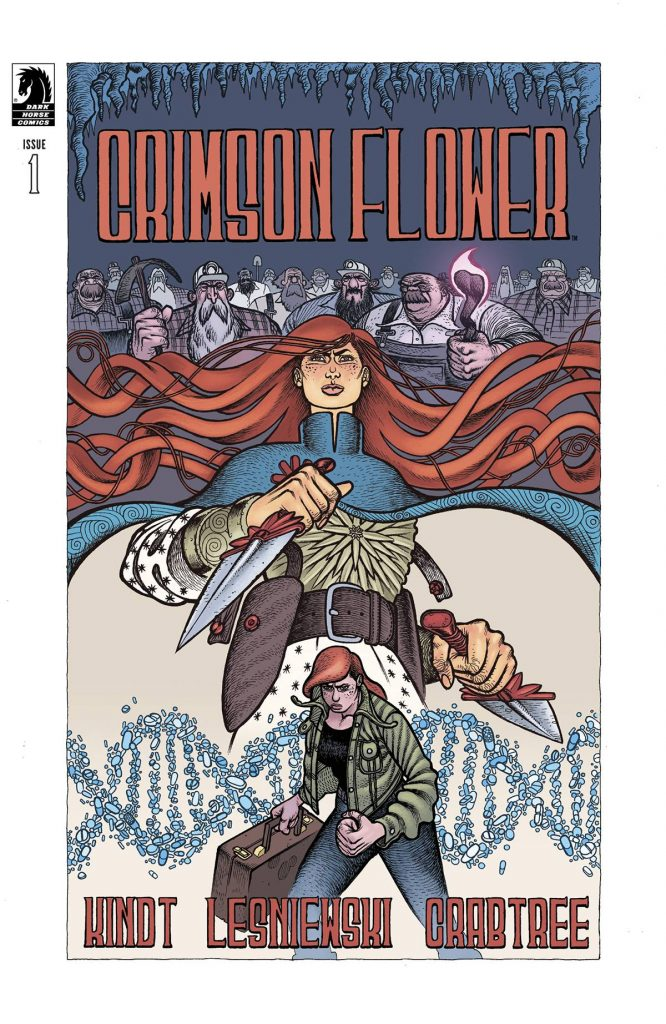 8 things concerning Matt Kindt and the conspiratorial trapdoors of 'Crimson Flower'
