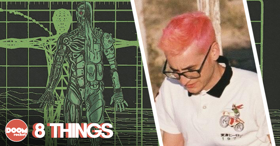 8 things concerning Dave Baker and the gnarly cyberpunk wonder of 'Night Hunters'