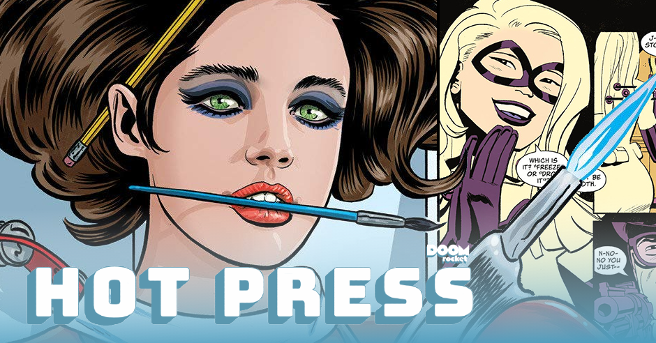 HOT PRESS 6/10/21: 'Hey, Amateur!' Eisner nom, Romero & Bellaire's 'Black Hammer Visions'